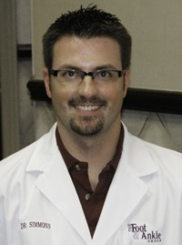 Chad Simmons Podiatrist in Lone Tree CO